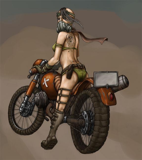 2008 – Punk Biker Girl