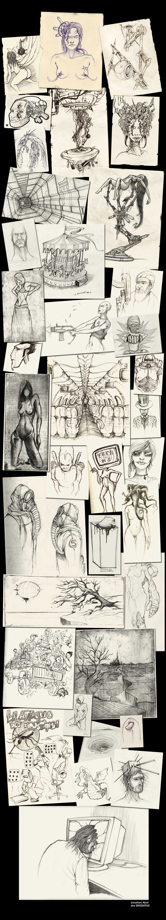 Sketches 2006 – 2007