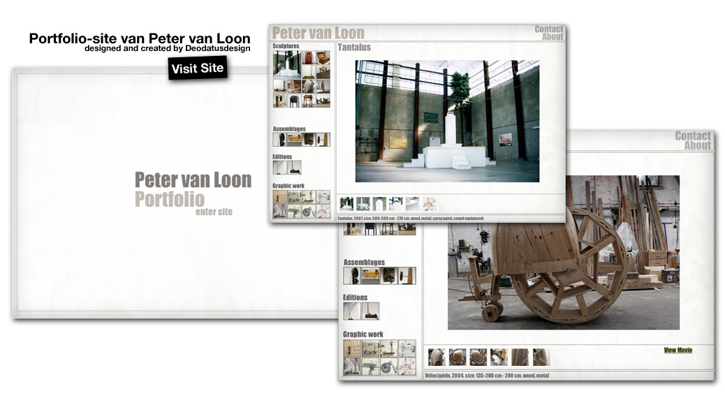 Website Peter Van Loon