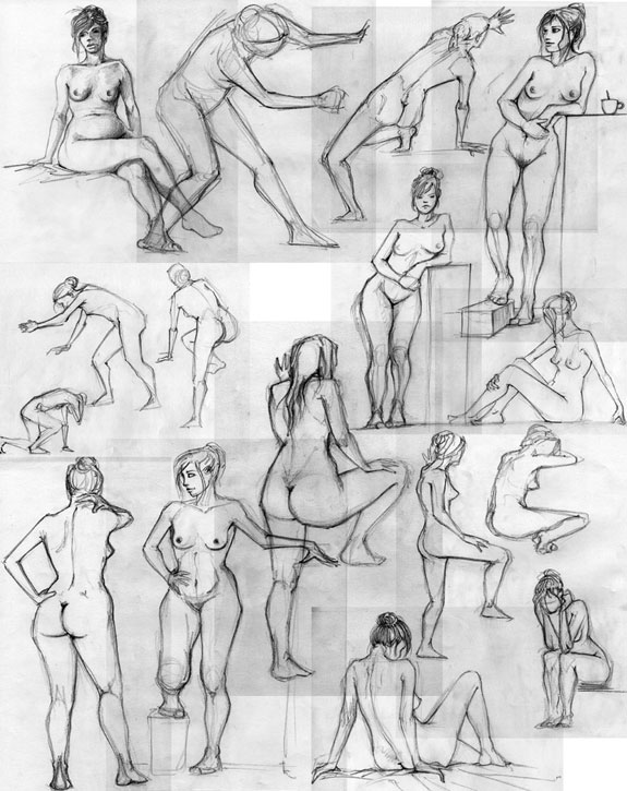 2005 – 2007 Figure Drawings