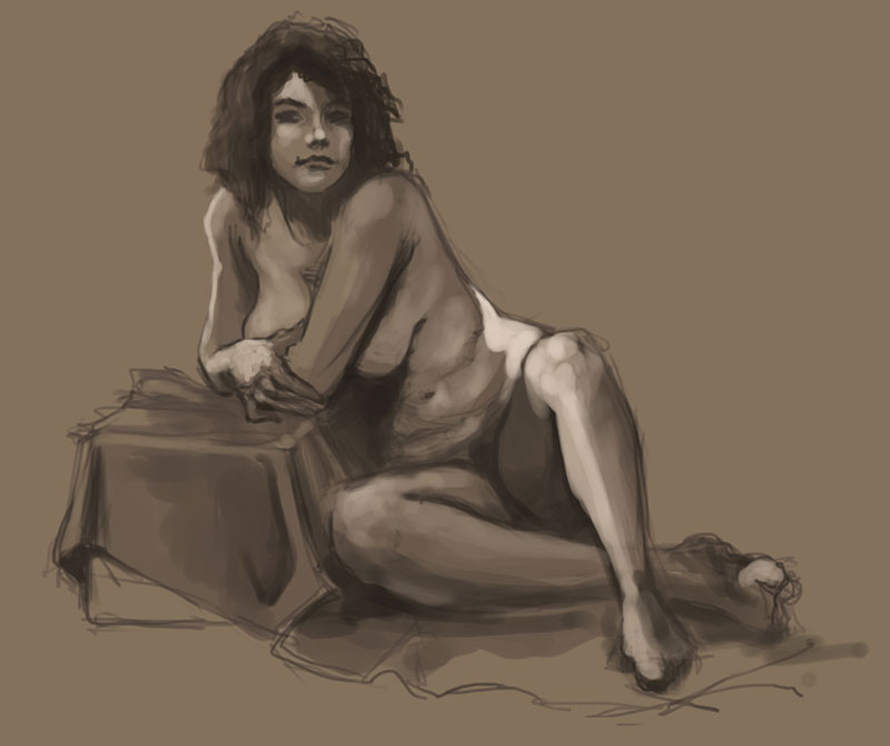Digital Figure Drawing 1