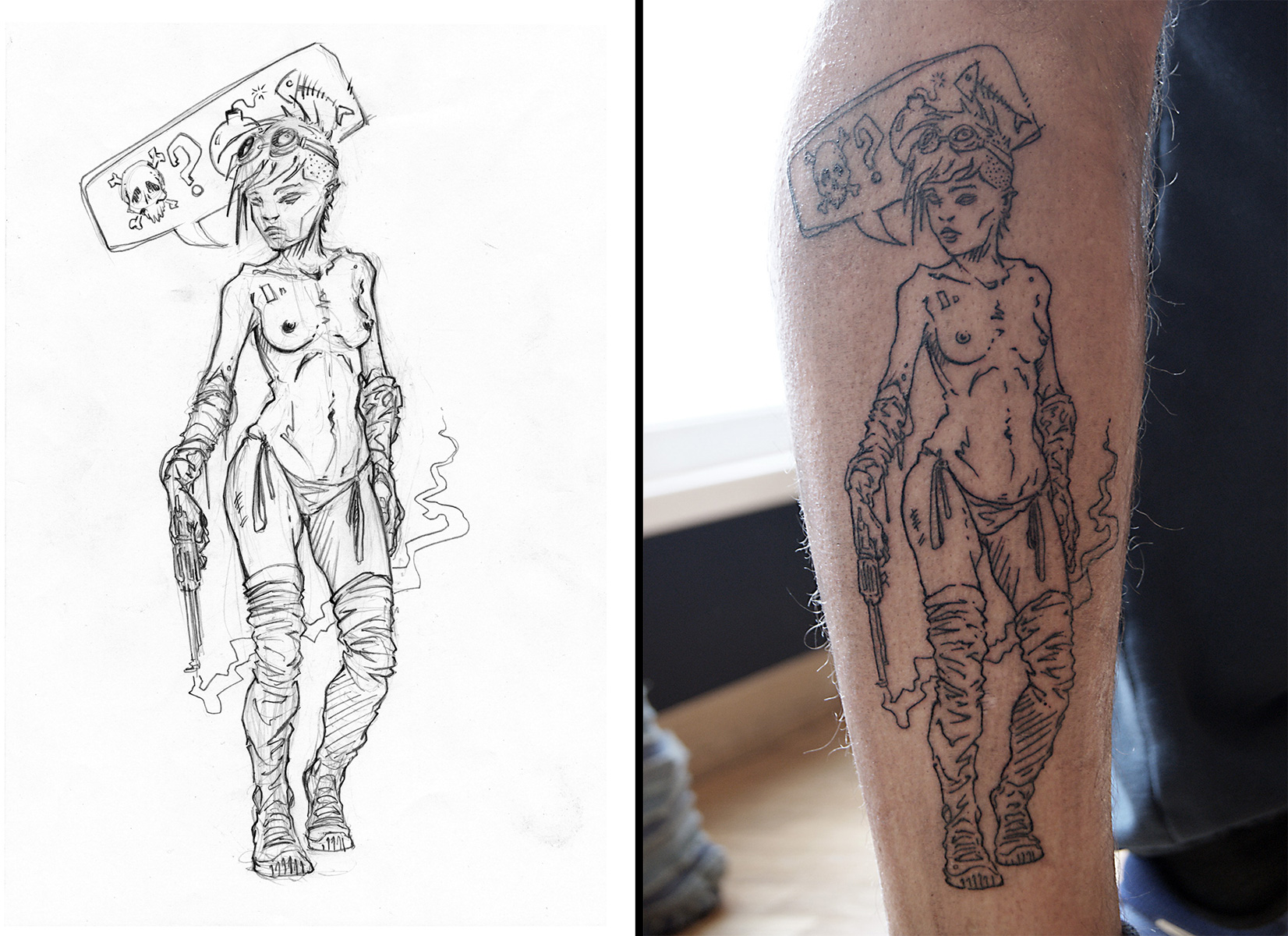DeodatusDesign_Punk_Girl_Tattoo_2016