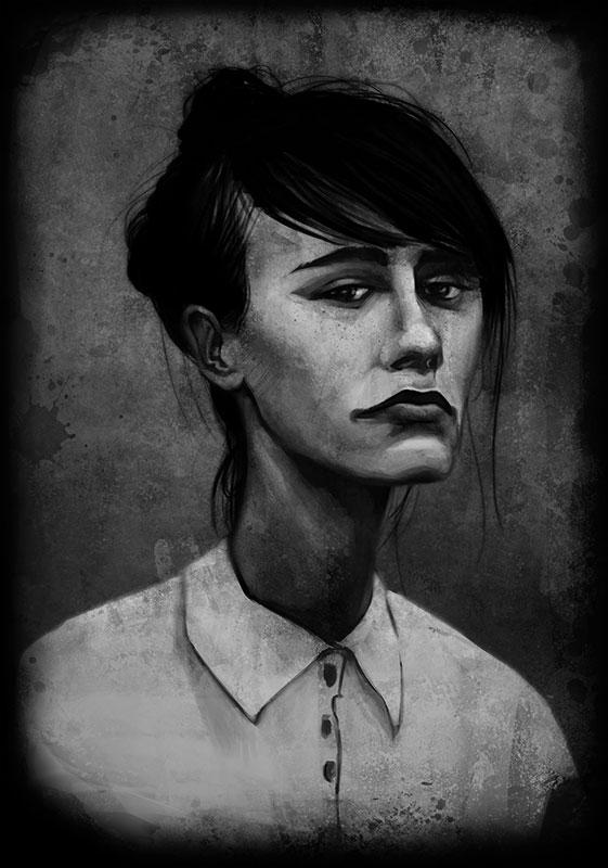 2017 – Wet Plate Portrait Painting