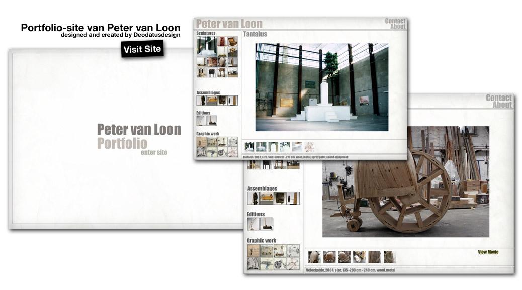 Website Peter Van Loon