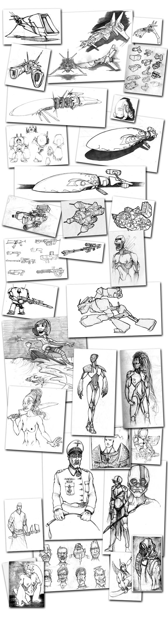 2005 – 2007 Drawings & Sketches
