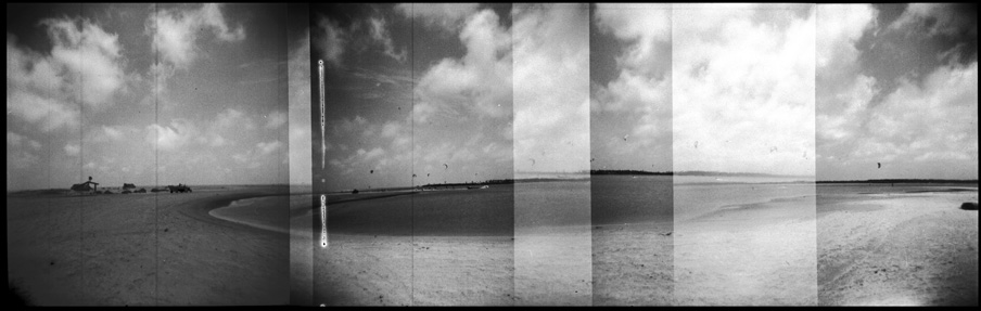 Kalpitiya lagoon analog panorama
