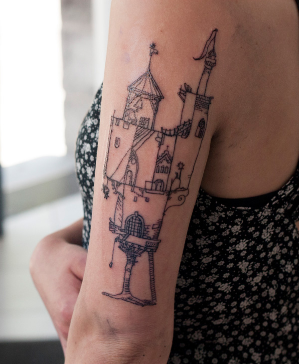 2014 – Tree Castle Tattoo
