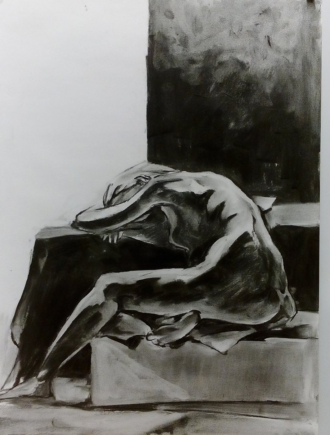 2015 – Charcoal Figure Drawings