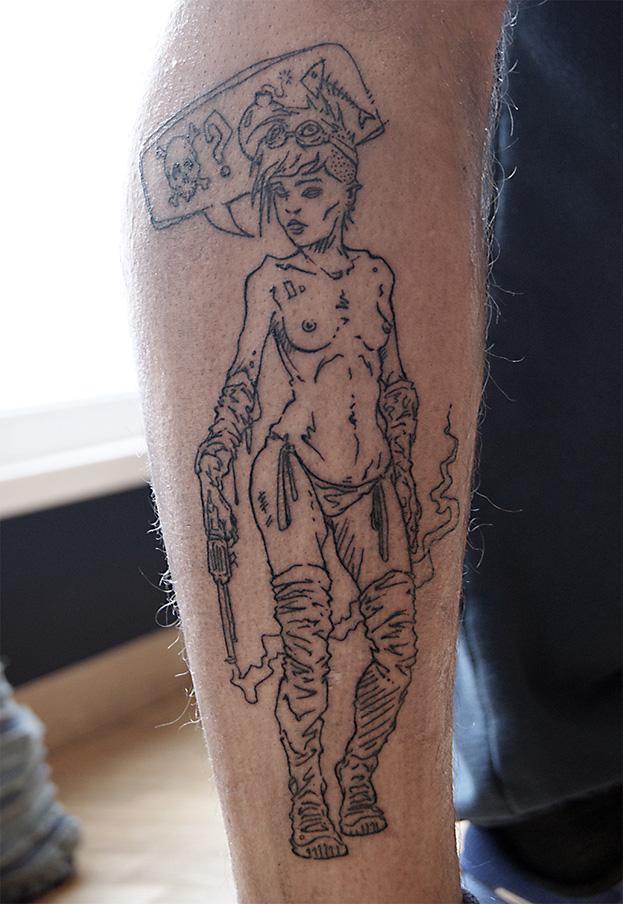 2016 – Punk Girl Tattoo