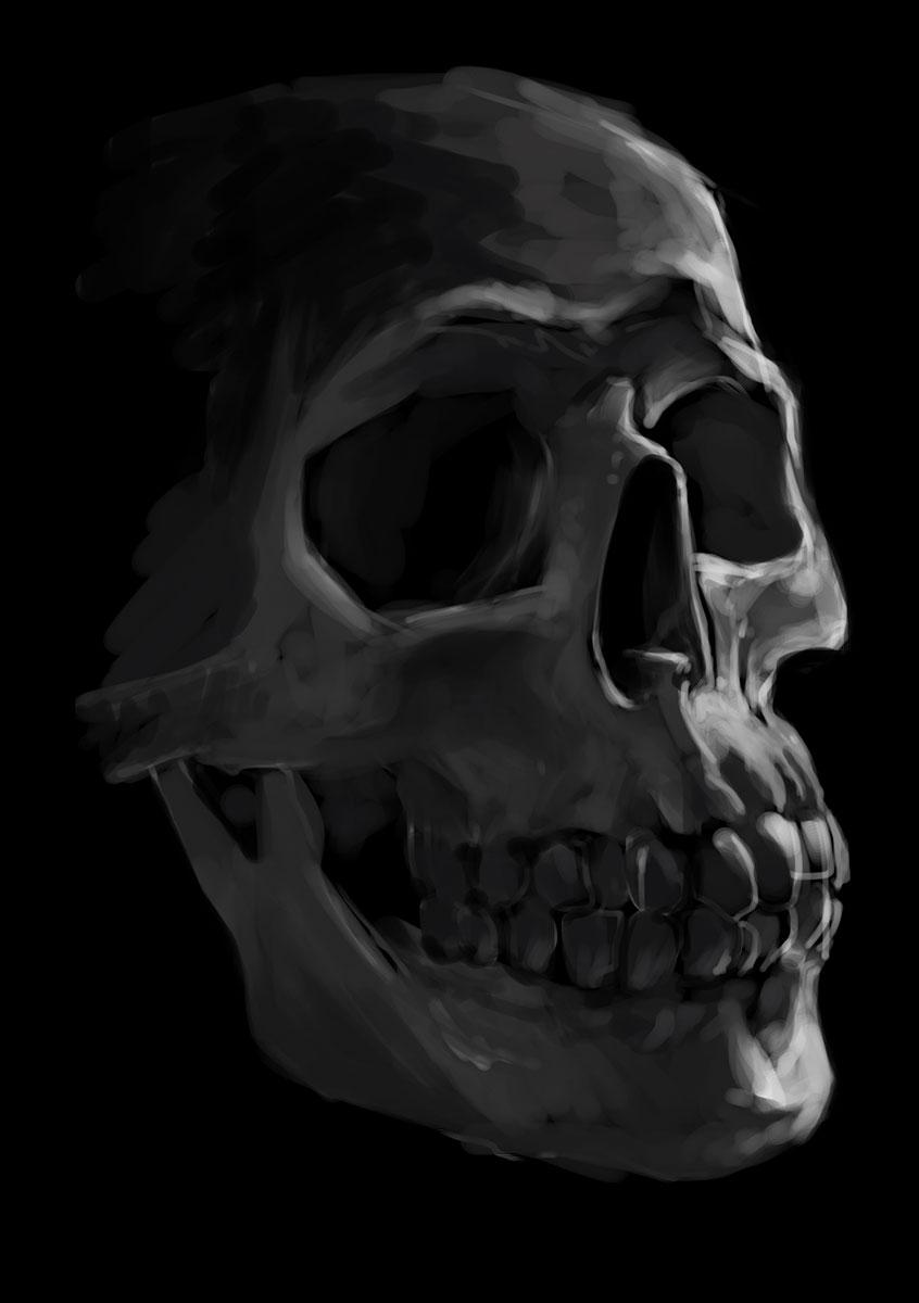 2015 – Skull Speedpaint